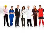 profissionais diferentes e com personalidades diferentes