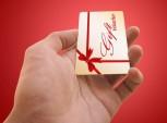 cartão vale-presente