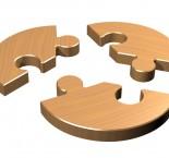 quebra-cabeça de 3 peças