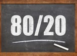lei de Pareto (80/20)