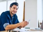 aplicativo colaborador feliz no trabalho